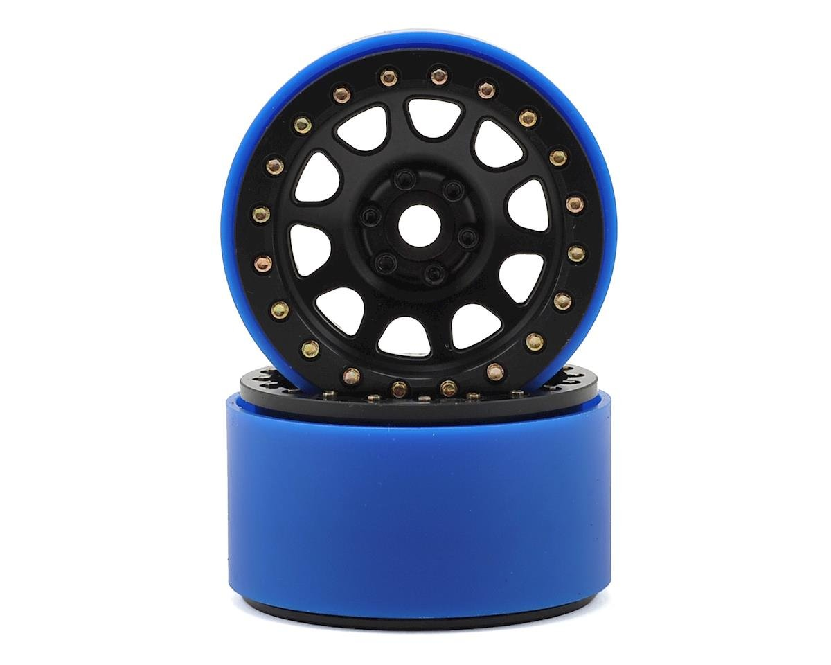 SSD RC 2.2 D Hole PL Beadlock Wheels (Black) (2) (Pro-Line Tires)