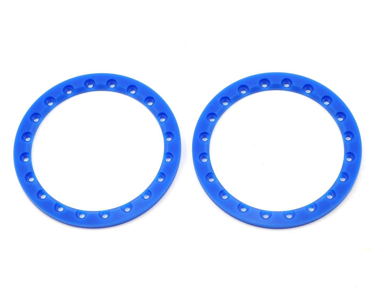 "2.2"" Beadlock Rings (2) (Blue) by SSD RC"