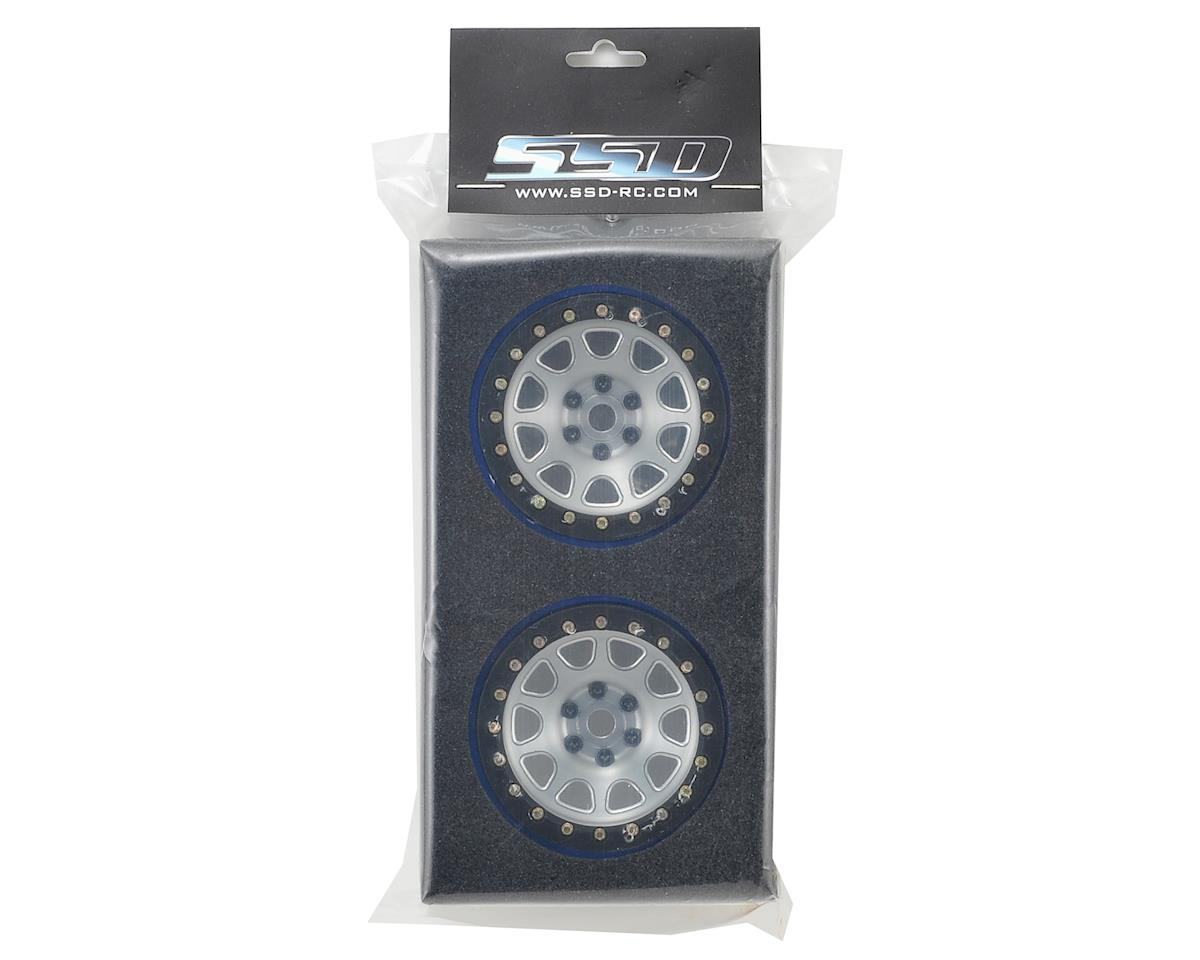 "SSD RC 2.2"" D Hole PL Beadlock Wheels (Silver) (2) (Pro-Line Tires)"