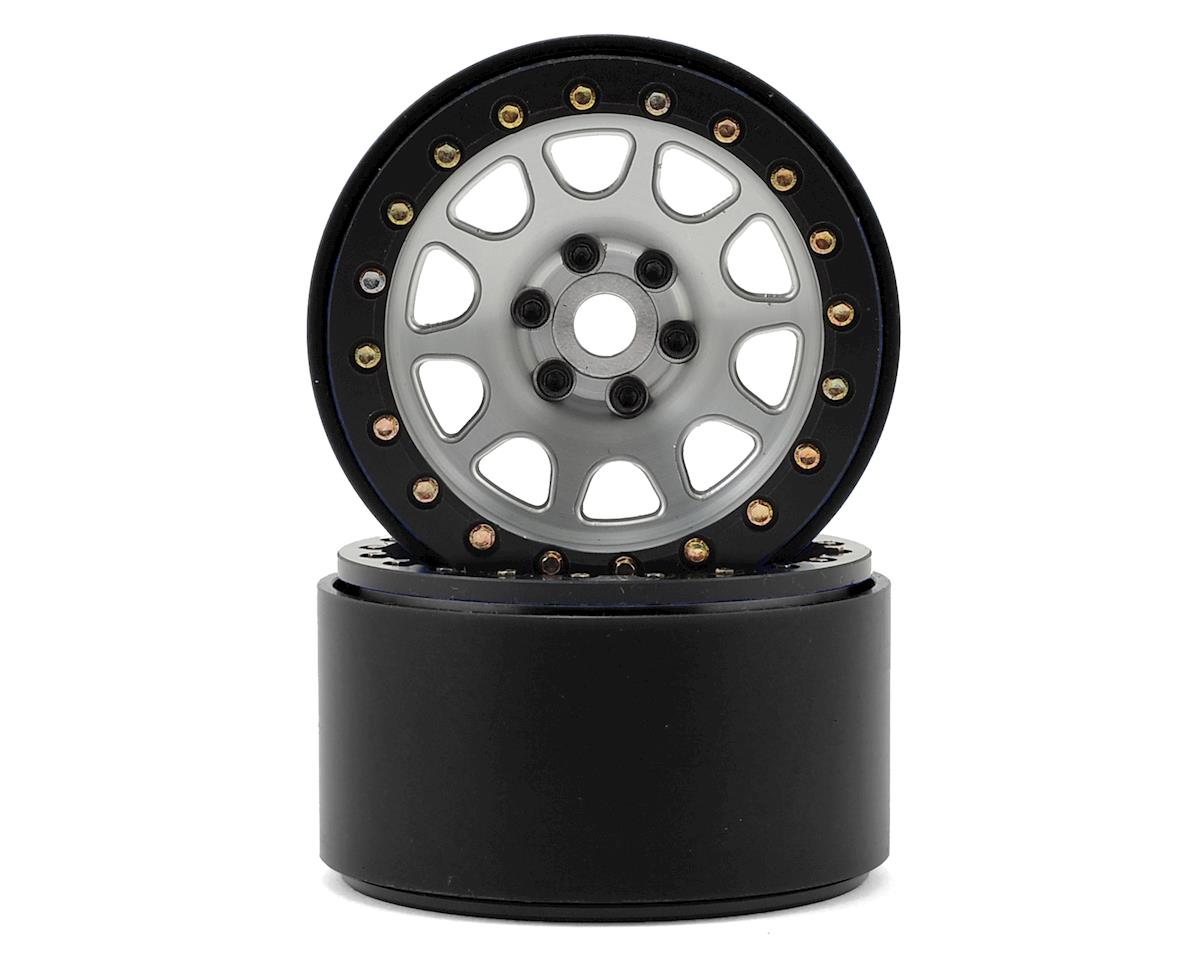 SSD RC 2.2 D Hole Beadlock Wheels (Silver) (2)