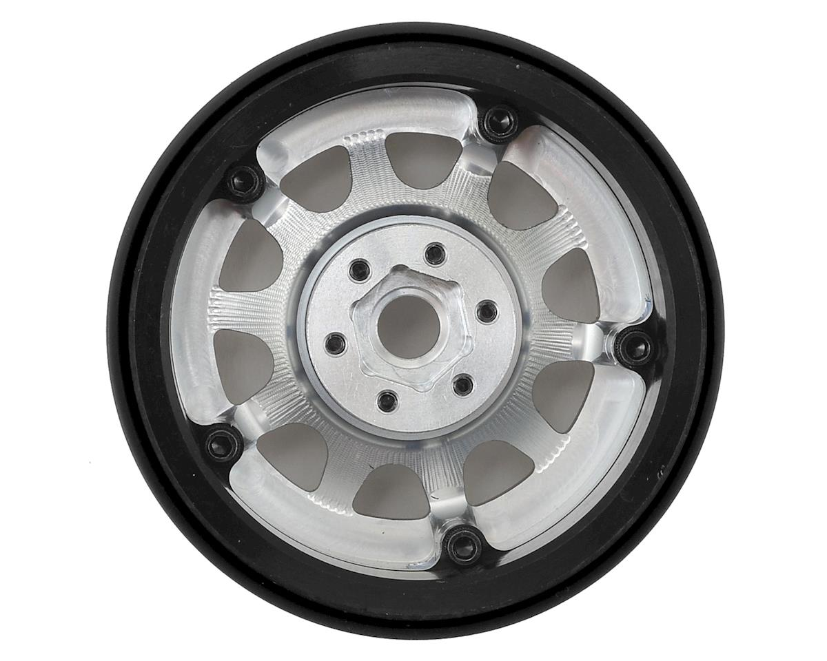 "SSD RC 2.2"" D Hole Beadlock Wheels (Silver) (2)"