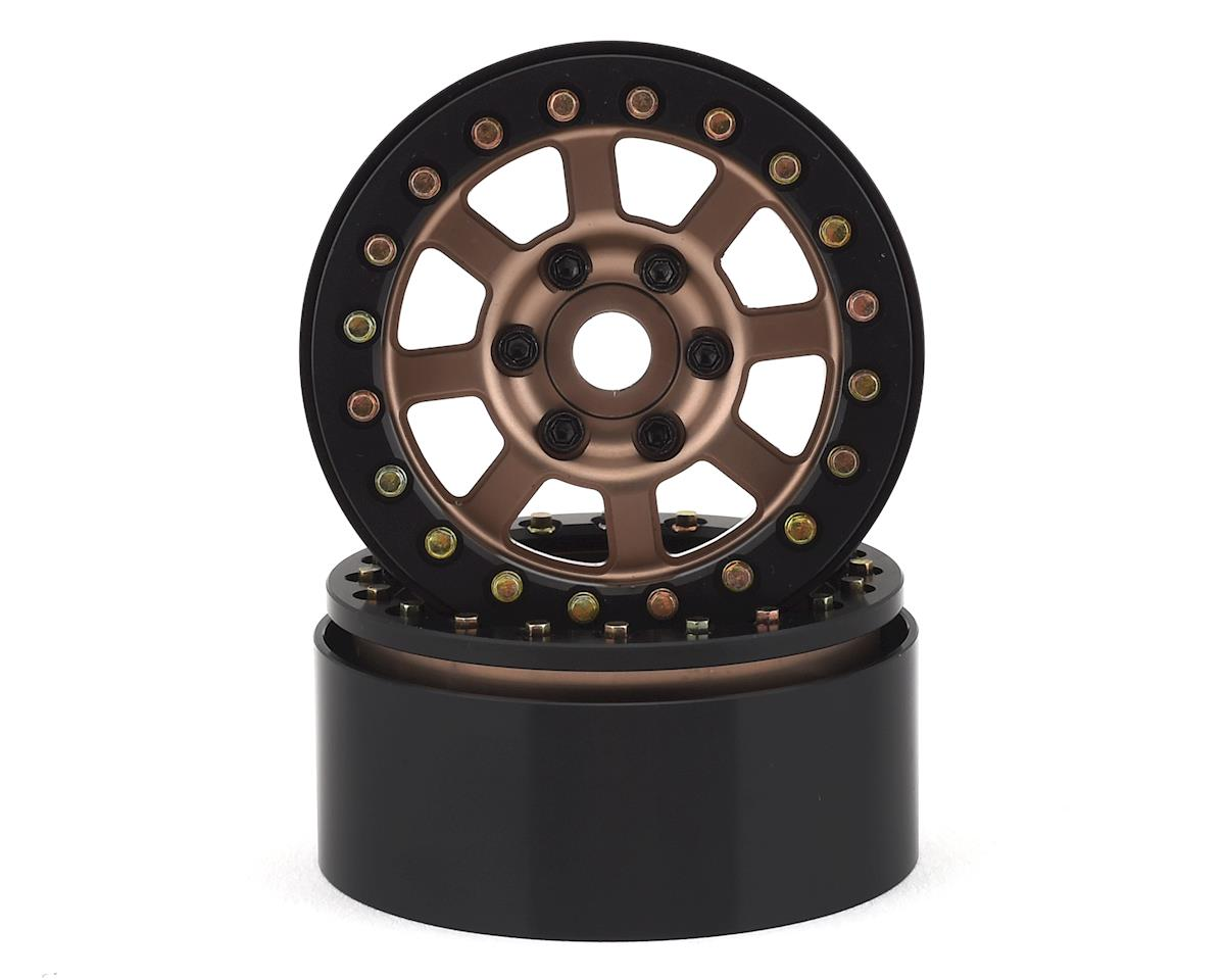 "SSD RC Assassin 1.9"" Beadlock Crawler Wheels (Bronze) (2)"