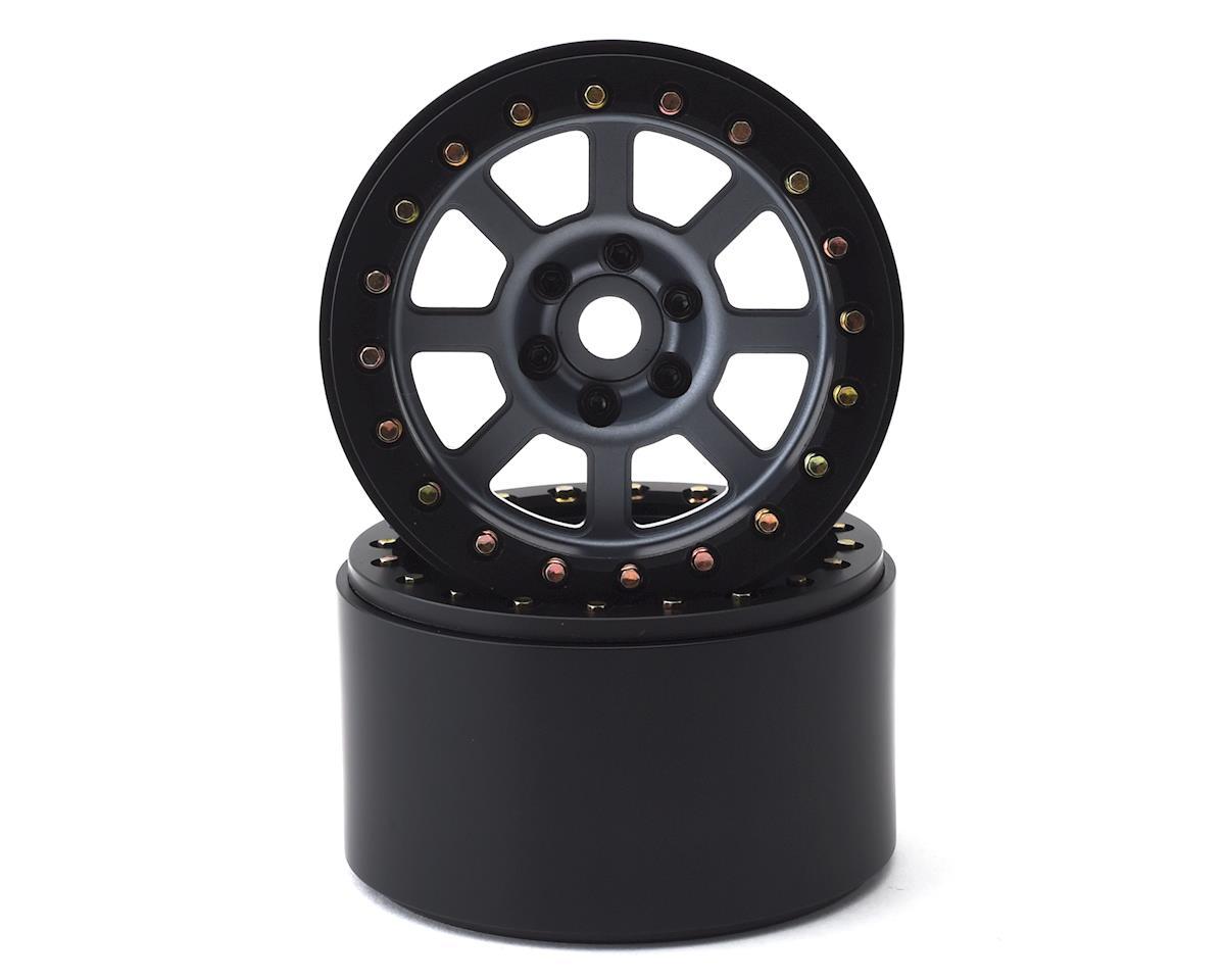 SSD RC 2.2 Wide Assassin Beadlock Wheels (Grey) (2)