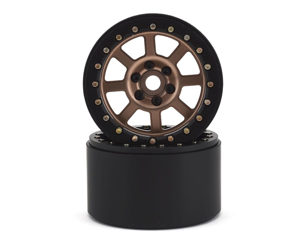"SSD RC 2.2"" Wide Assassin Beadlock Wheels (Bronze) (2)"