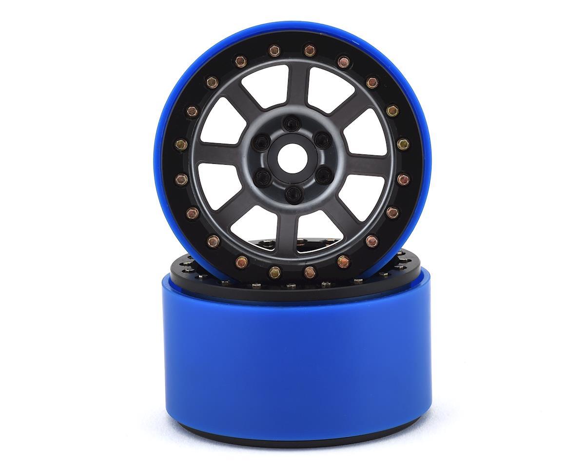 SSD RC 2.2 Wide Assassin PL Beadlock Wheels (Grey) (2) (Pro-Line Tires)