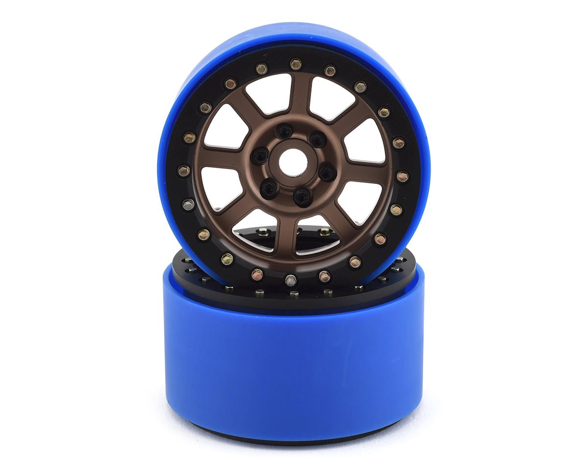 SSD RC 2.2 Wide Assassin PL Beadlock Wheels (Bronze) (2) (Pro-Line Tires)
