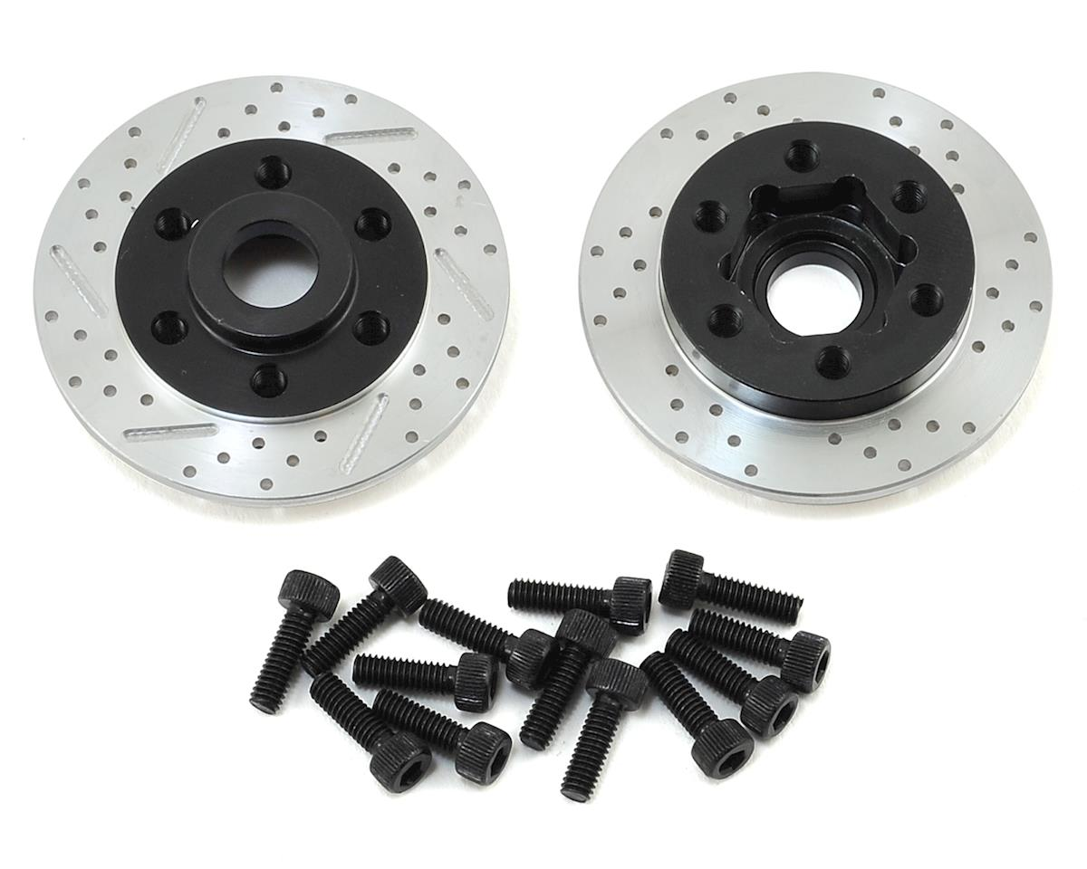 SSD RC Wheel Hub w/Brake Rotor (Axial SCX10)