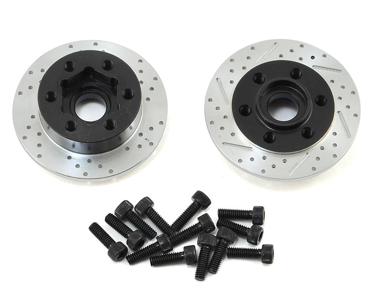 SSD RC +3mm Offset Wheel Hub w/Brake Rotor (Axial SCX10)