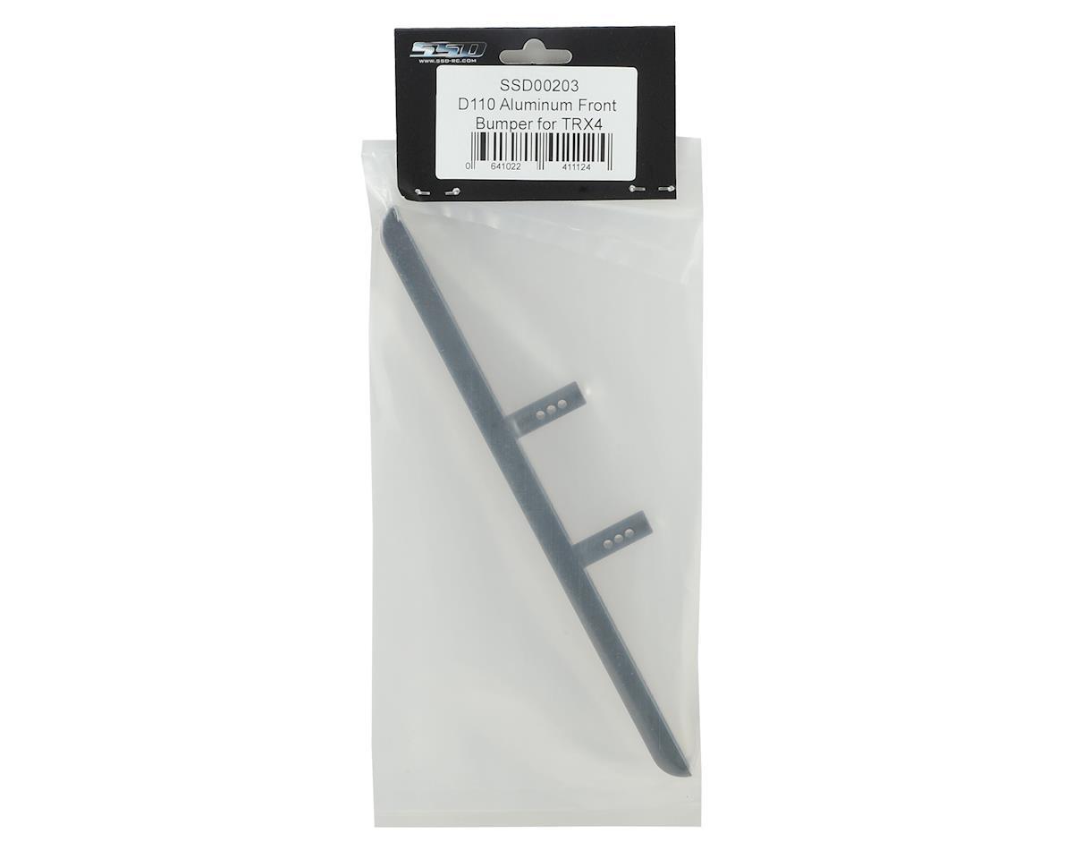 SSD RC Aluminum TRX4 / SCX10 II Front Bumper
