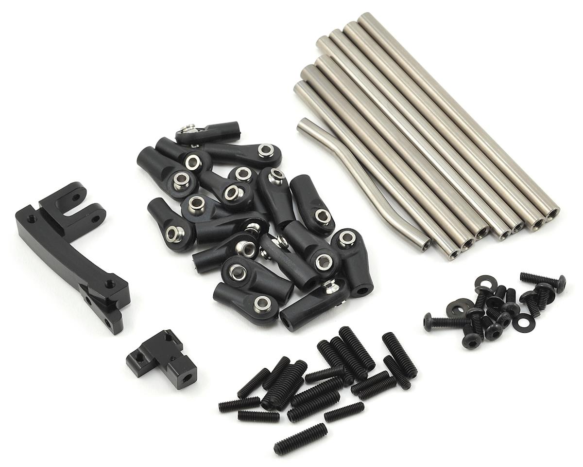 SSD RC SCX10 Pro44 CMS & Titanium Link Kit AR44 Conversion Kit | relatedproducts
