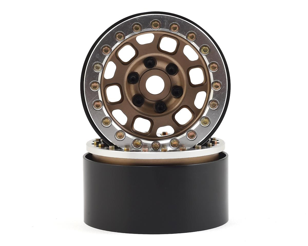"1.9"" Contender Beadlock Wheels (Bronze) by SSD RC"