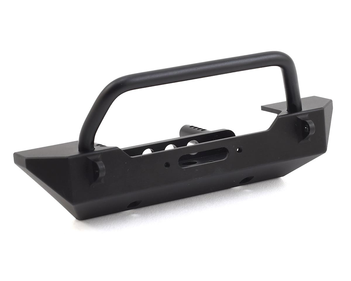 TRX-4 / SCX10 II Rock Shield Narrow Winch Bumper by SSD RC