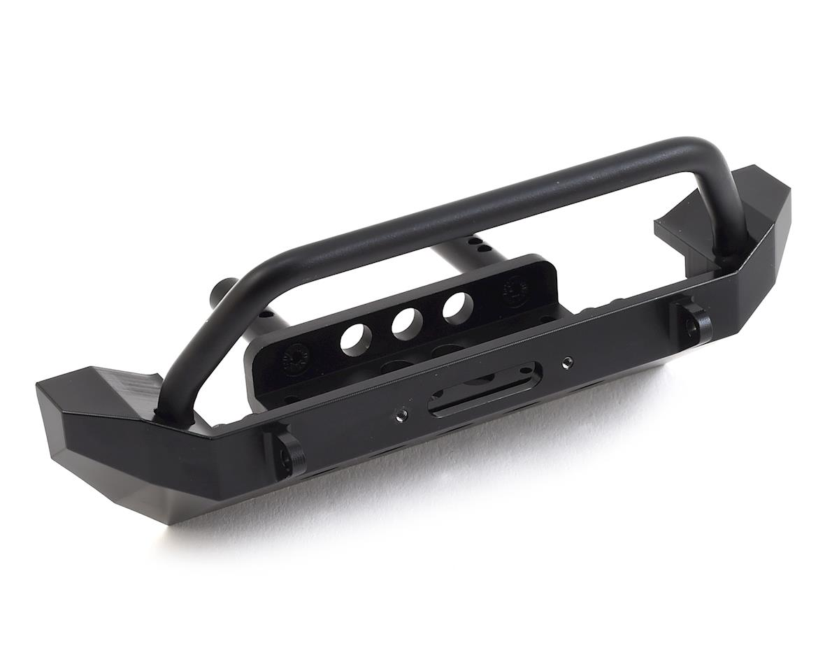 SSD RC TRX-4 / SCX10 II Rock Shield Winch Bumper (GMade BOM)