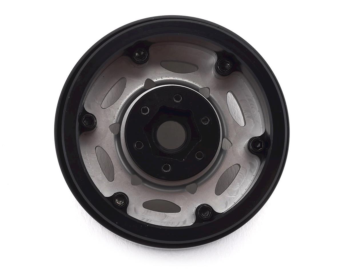 "SSD RC 1.9"" Champion Beadlock Wheels (Silver/Black)"