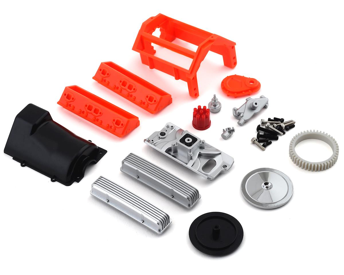 SSD RC Scale V8 Engine Motor Cover Kit (Axial SCX10 II)