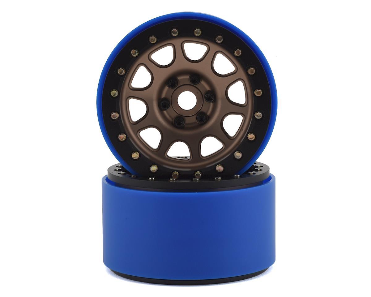 SSD RC 2.2 D Hole PL Beadlock Wheels (Bronze) (2) (Pro-Line Tires)