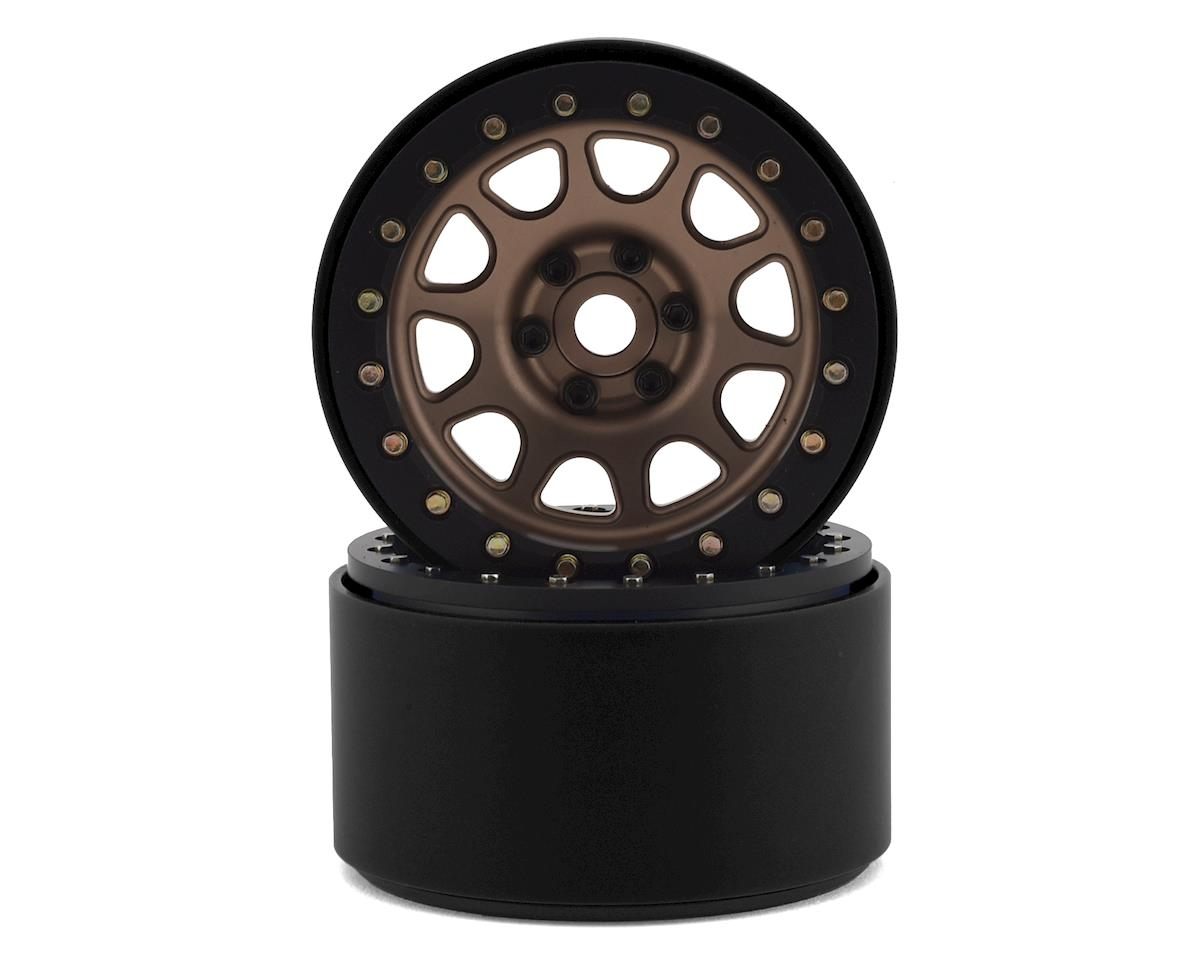 "SSD RC 2.2"" D Hole Beadlock Wheels (Bronze) (2)"