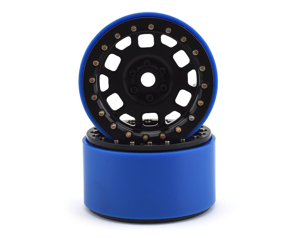 SSD RC 2.2 Contender PL Beadlock Wheels (Black) (2) (Pro-Line Tires)