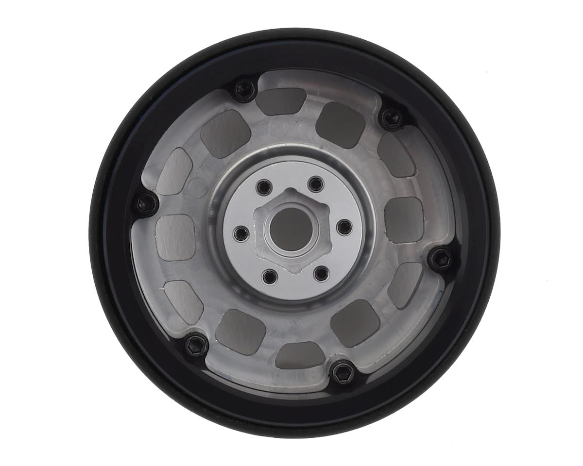 "SSD RC 2.2"" Contender Beadlock Wheels (Silver)"