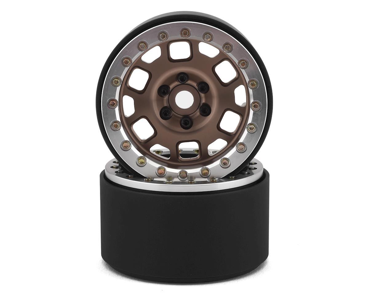 """SSD RC 2.2"""" Contender Beadlock Wheels (Bronze)"""
