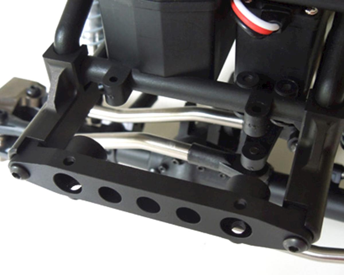 SSD RC Wraith 1.9 Aluminum Bumper Mount (Black)
