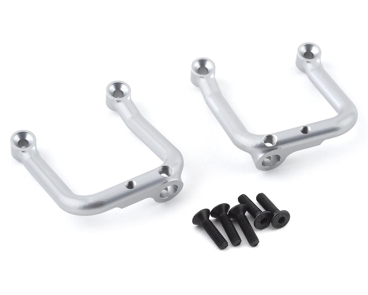 SSD RC Trail King Aluminum Front Shock Hoops (Silver) (2)