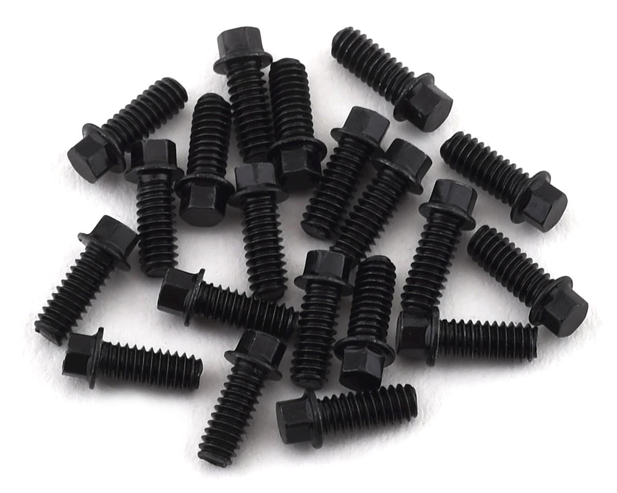 SSD RC 2x5mm Scale Hex Bolts (Black) (20)