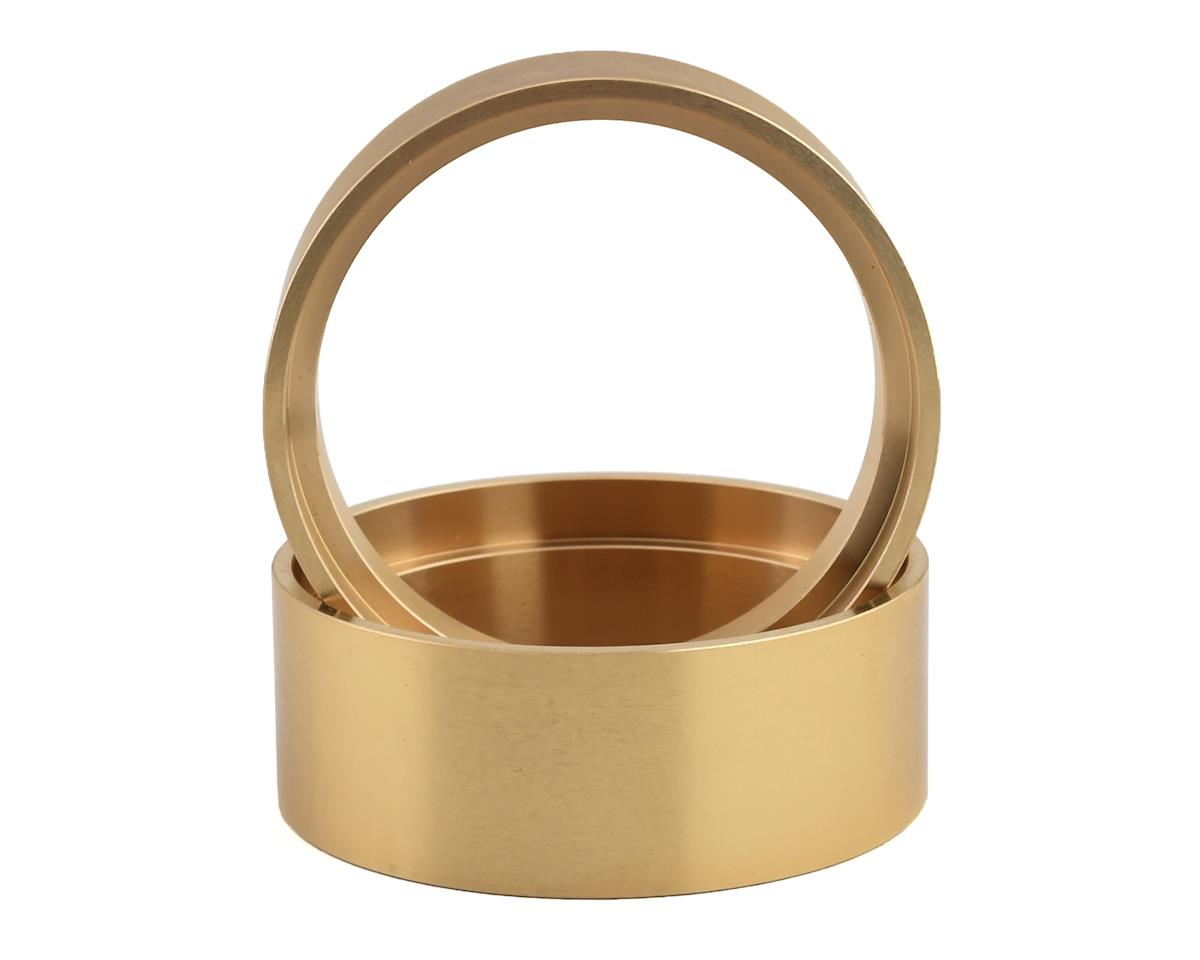 SSD RC Brass 1.9 Internal Lock Rings (2) (21.5mm)