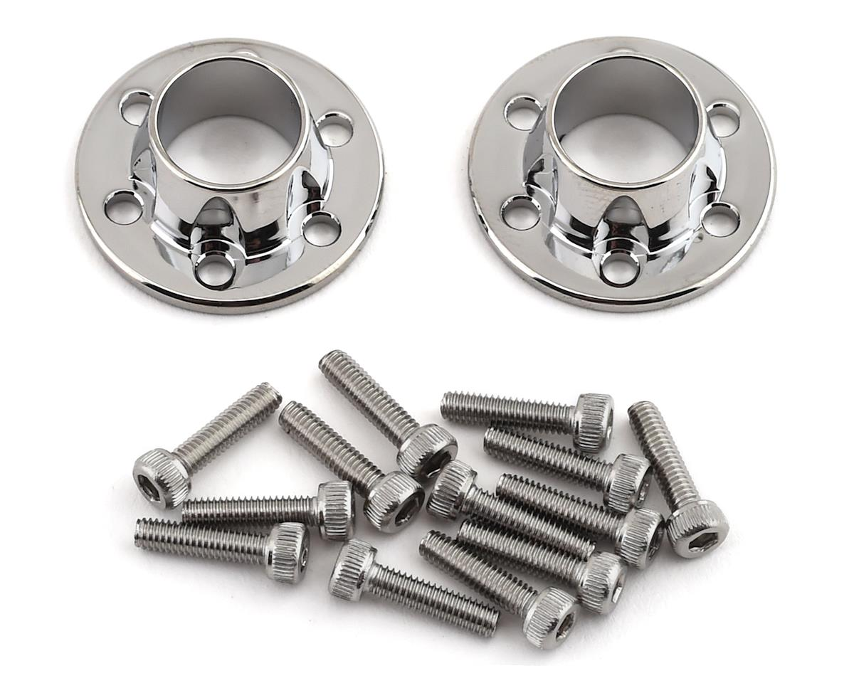 SSD RC Wheel Center Caps (Chrome) (2) | relatedproducts