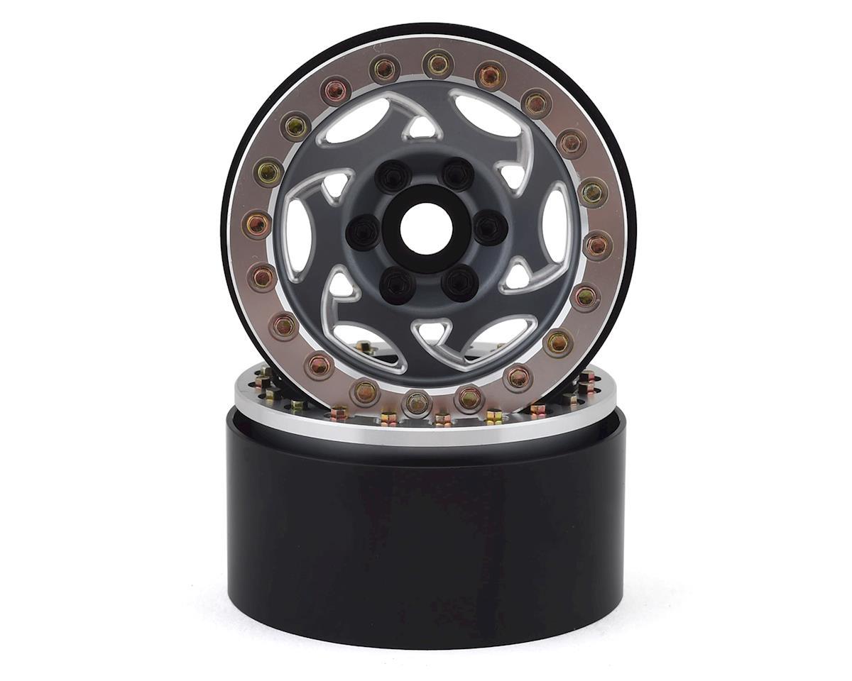 "SSD RC 1.9"" Champion Beadlock Wheels (Grey/Silver) (2)   alsopurchased"