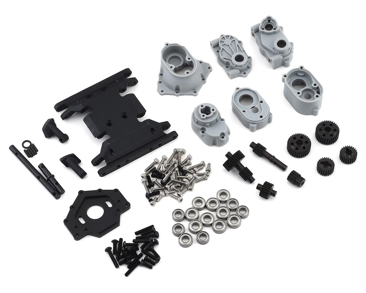 SSD RC Trail King Scale Transmission & Mount Set
