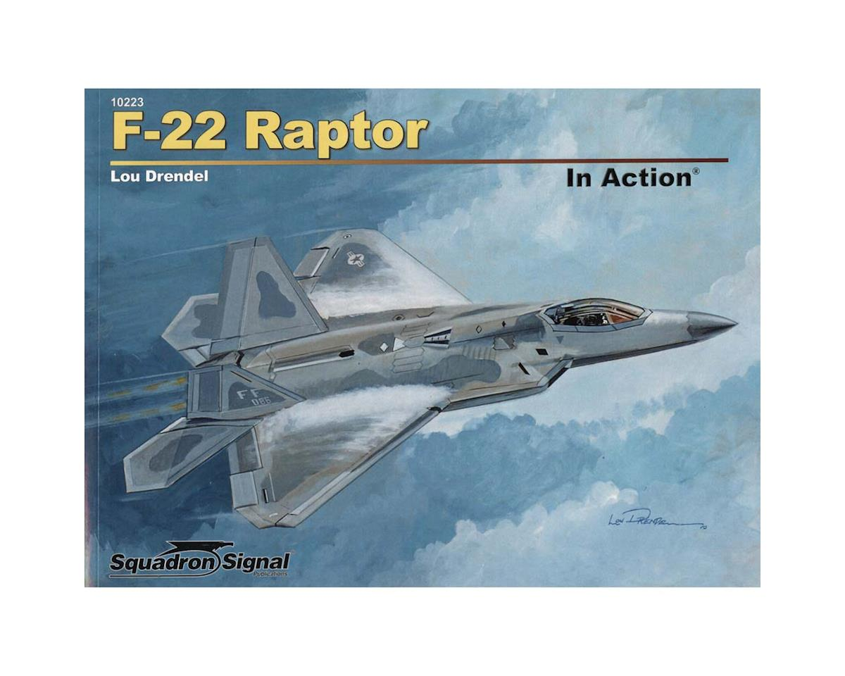 Squadron/Signal 10223 F-22 Raptor In Action Softcover