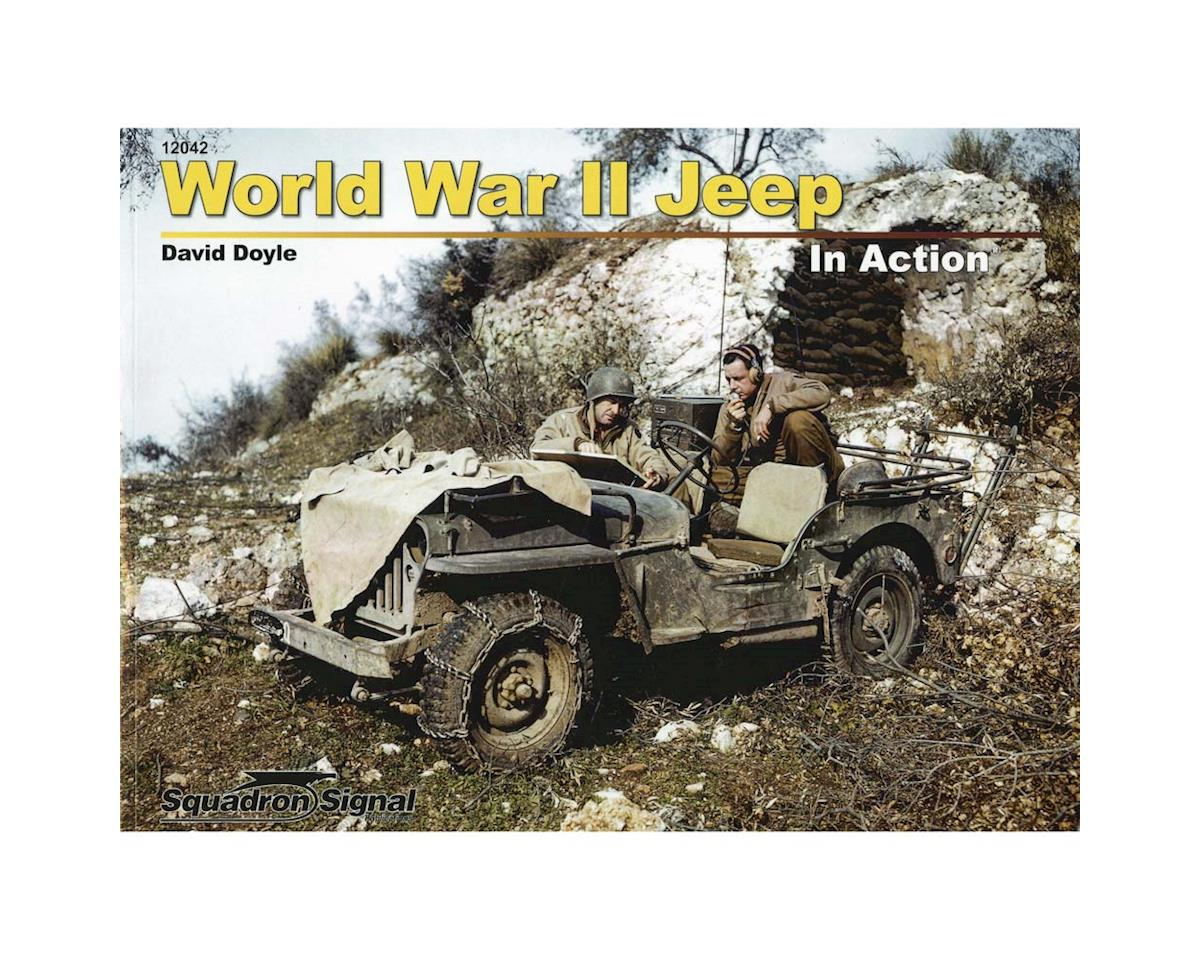 12042 WWII Jeep In Action (Softcover)