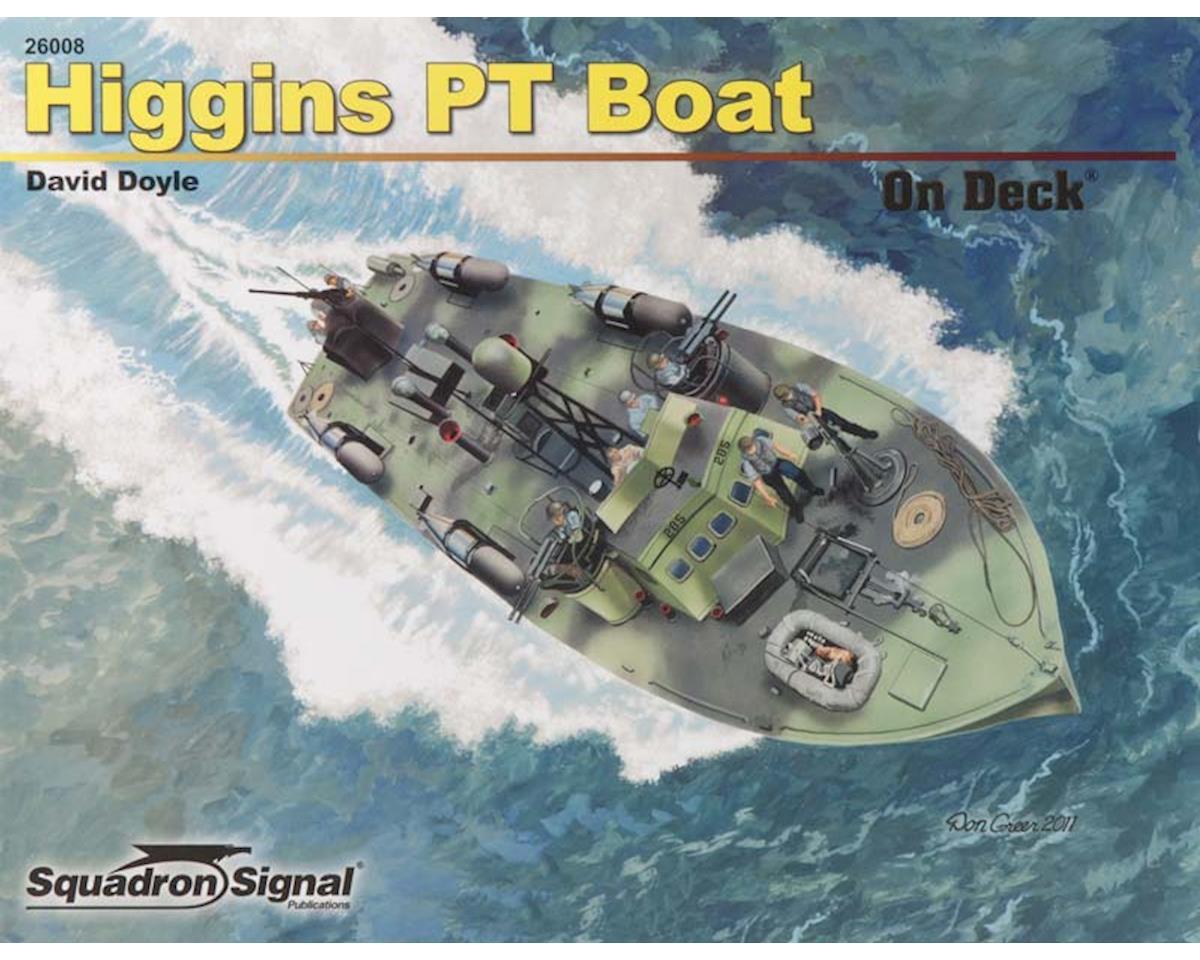 26008 Higgins 78' PT Boat On Deck