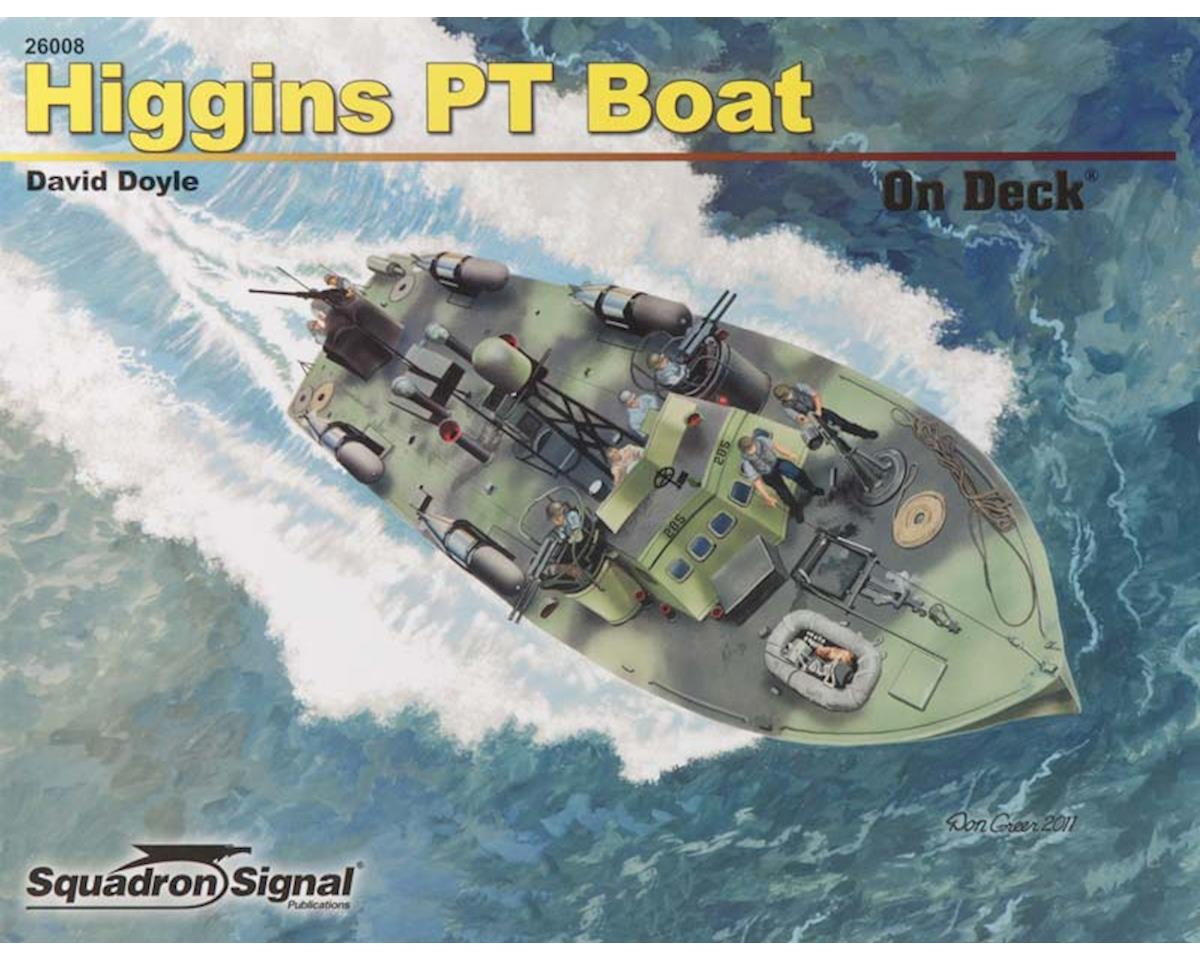 26008 Higgins 78' PT Boat On Deck by Squadron/Signal