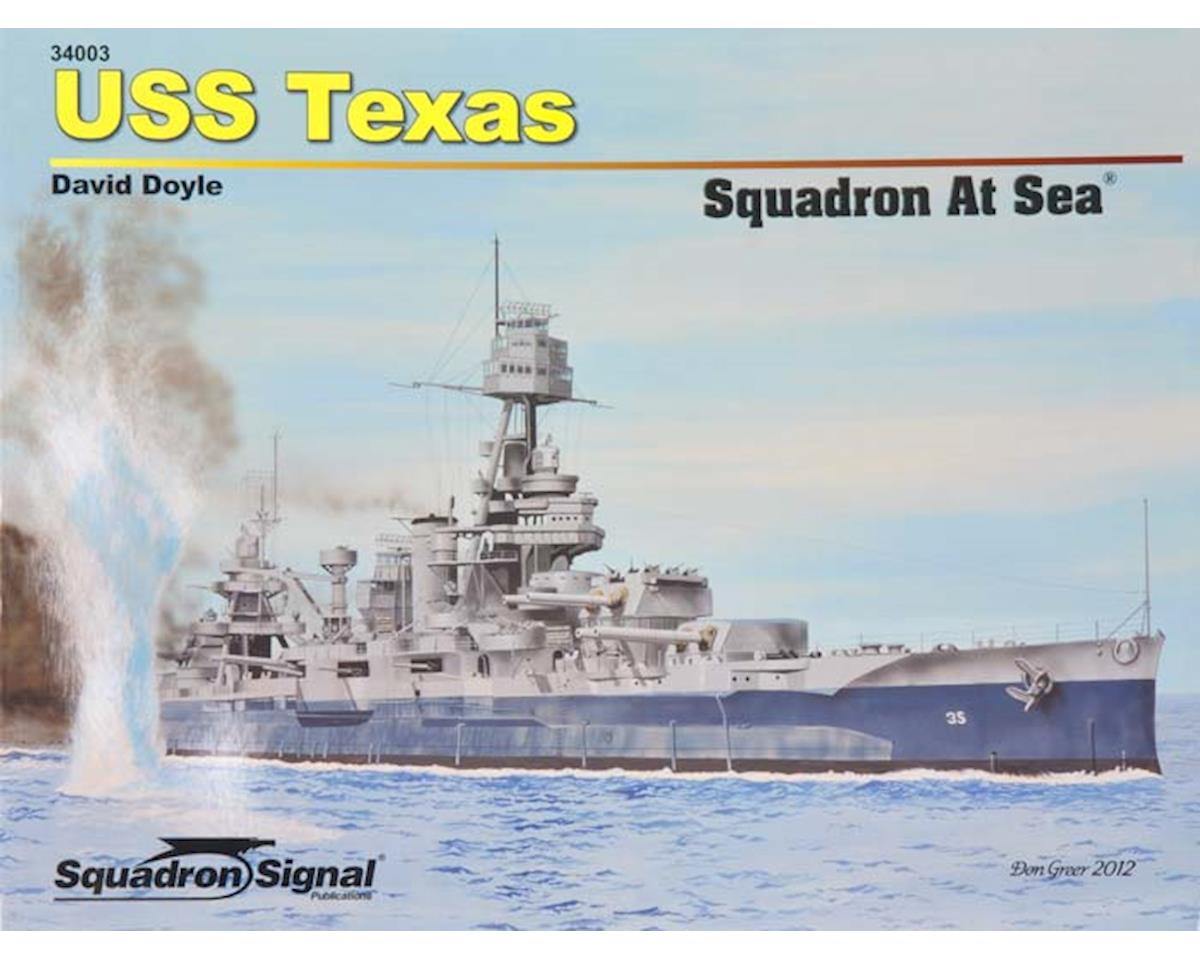 34003 USS Texas Squadron At Sea