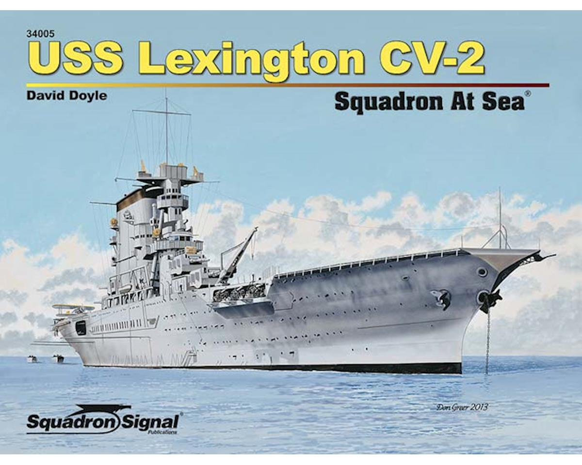 34005 USS Lexington Squadron At Sea