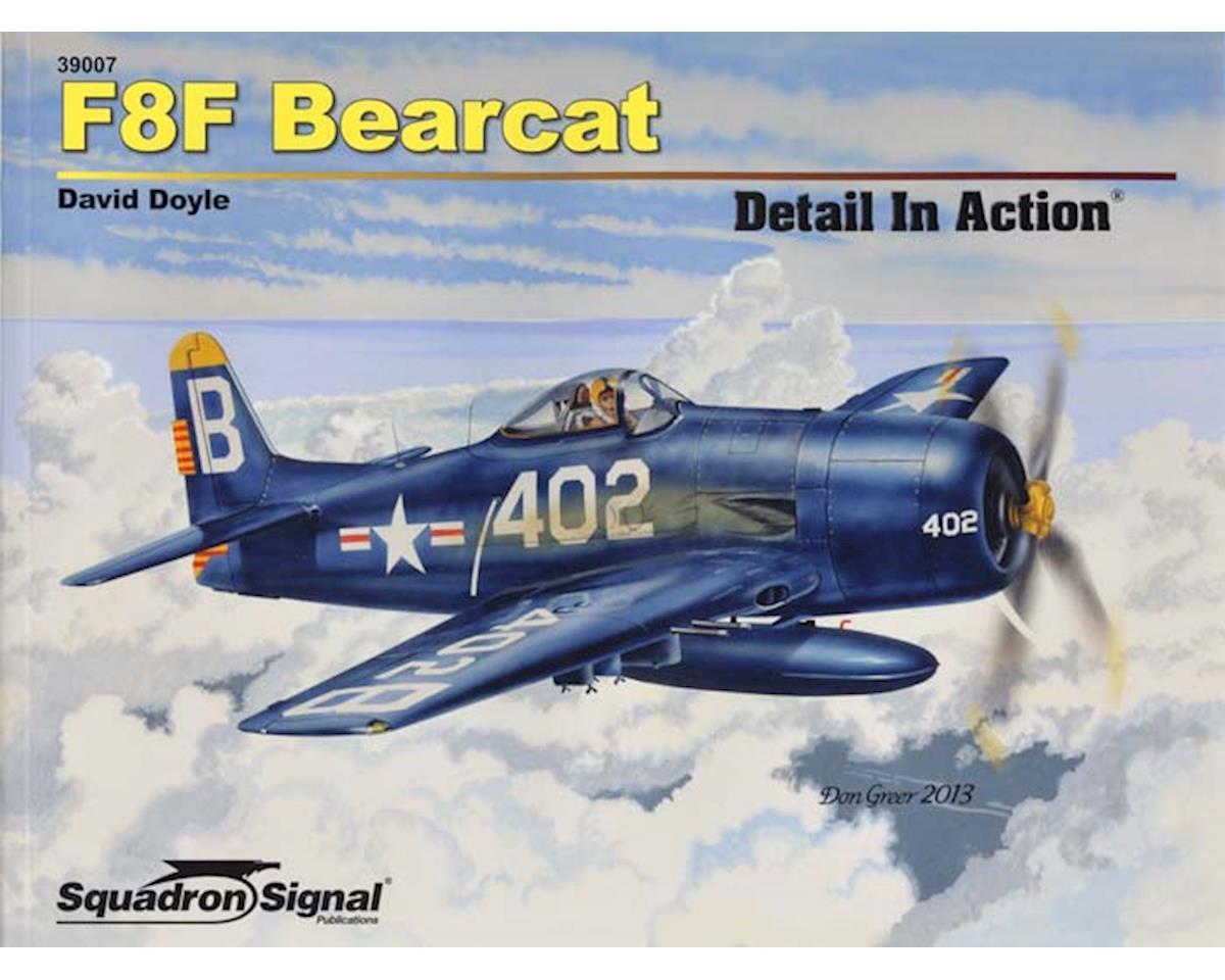 39007 F8F Bearcat Detail In Action