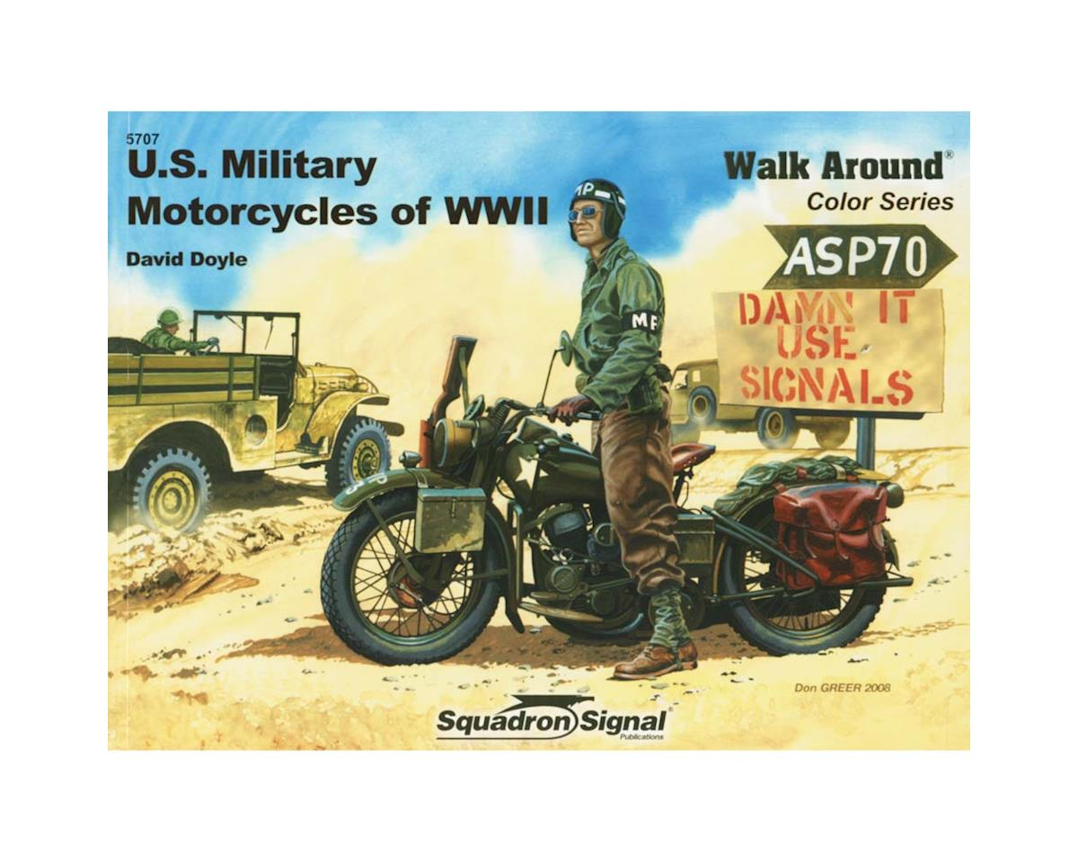 5707 US Military Motorcycles of WWII