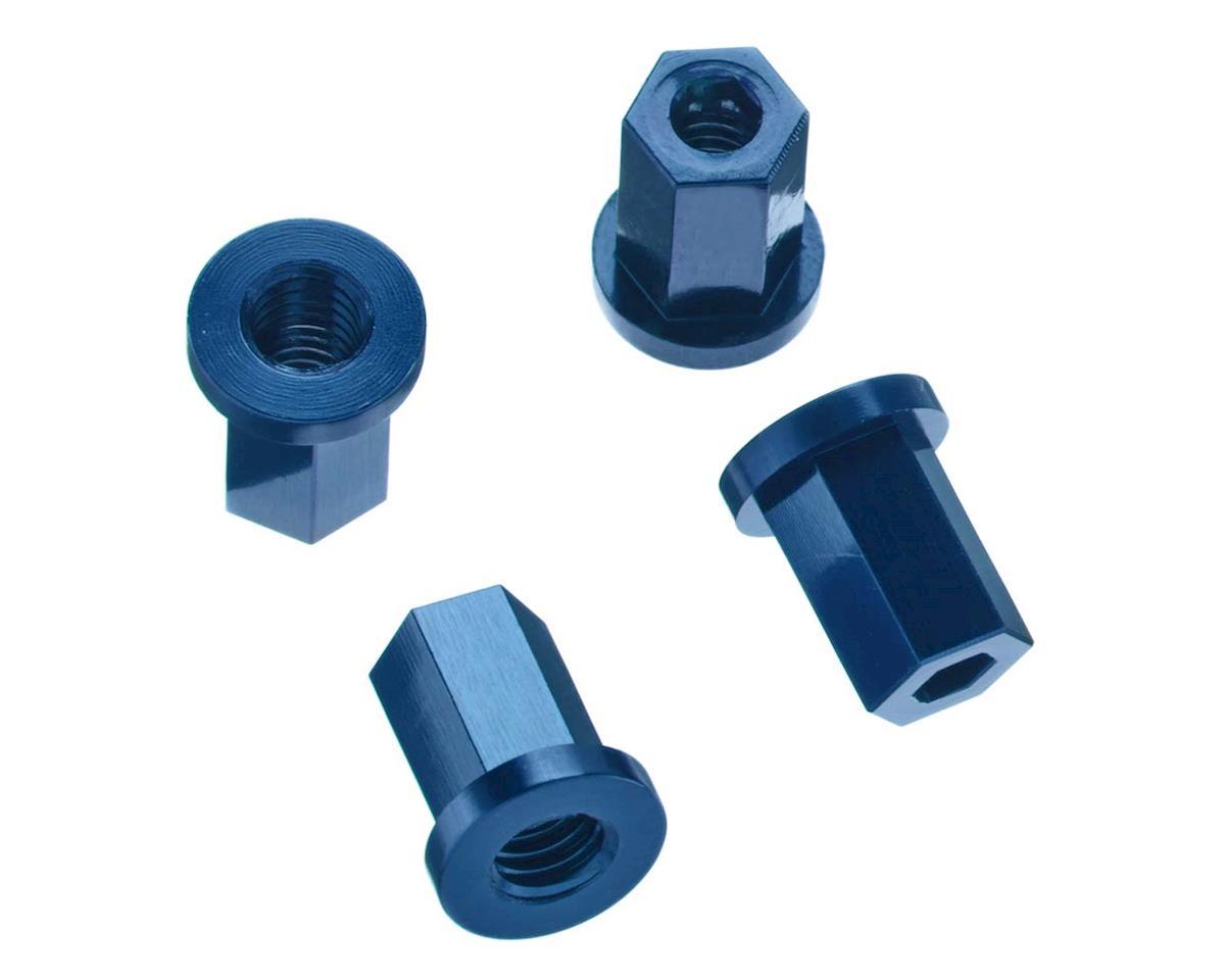 ST Racing Concepts Wraith Aluminum Internal Locknut (4) (Blue)