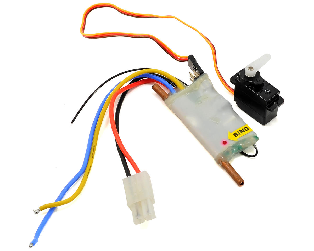 Steerix Rocker F1 3-in-1 Servo/ESC/Receiver Unit