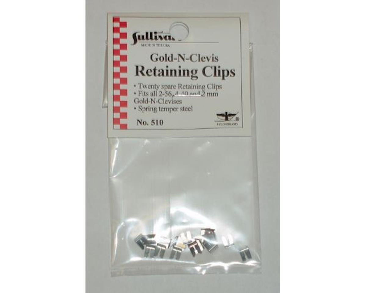 Sullivan Spare Retaining Clips (20)