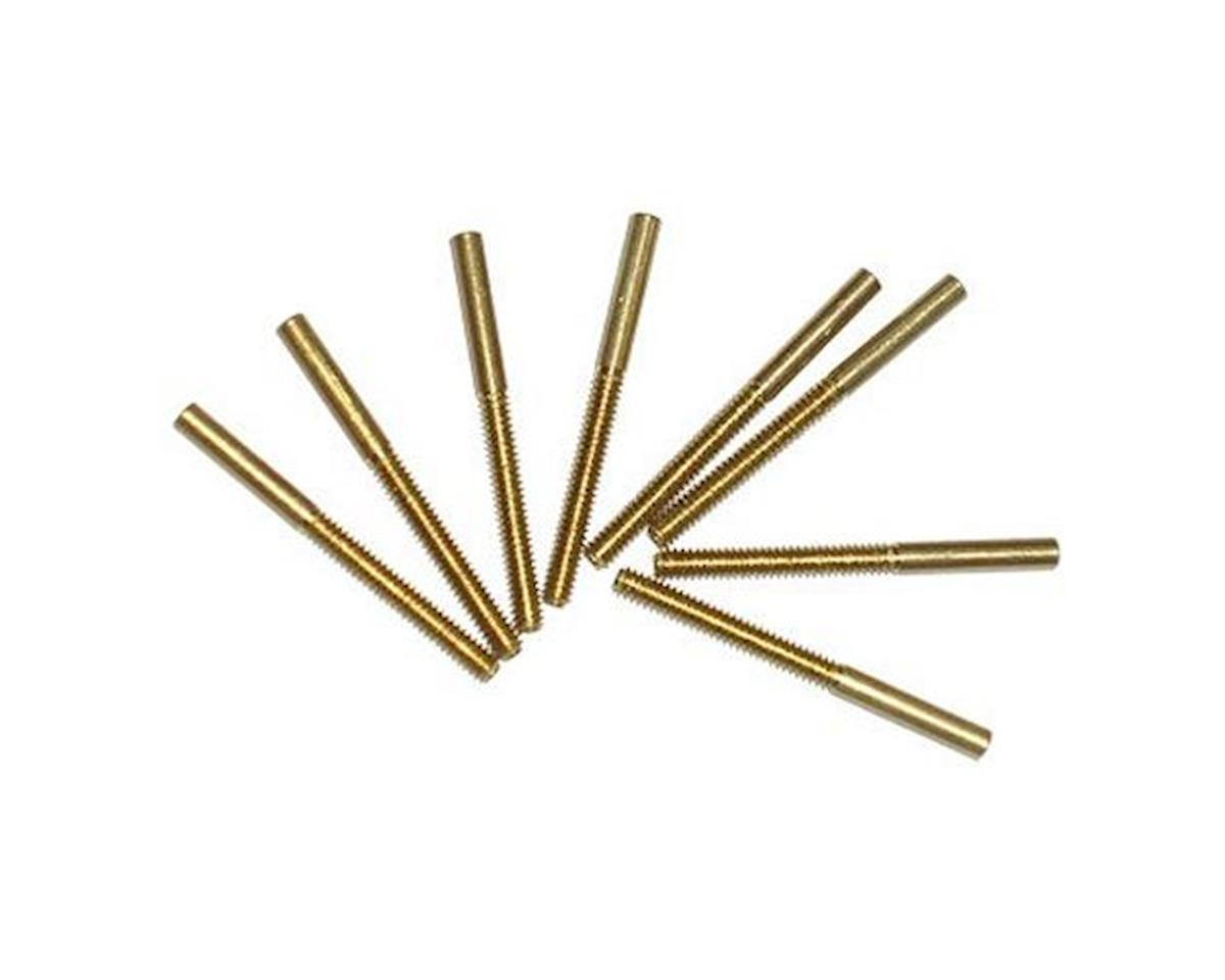 Threaded Brass Coupler,2-56(8) by Sullivan