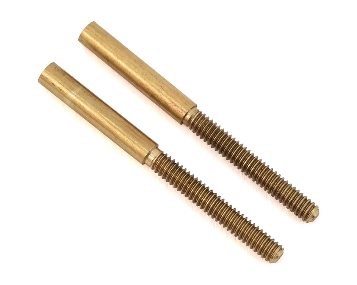 Sullivan 2-56 Threaded Medium Brass Couplers (2)
