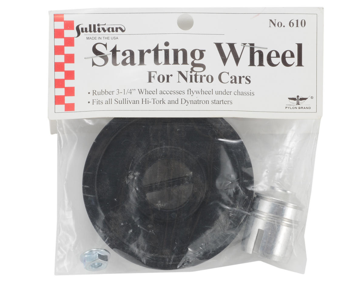 "Sullivan Gas Car Adapter Kit w/3-1/4"" Wheel"