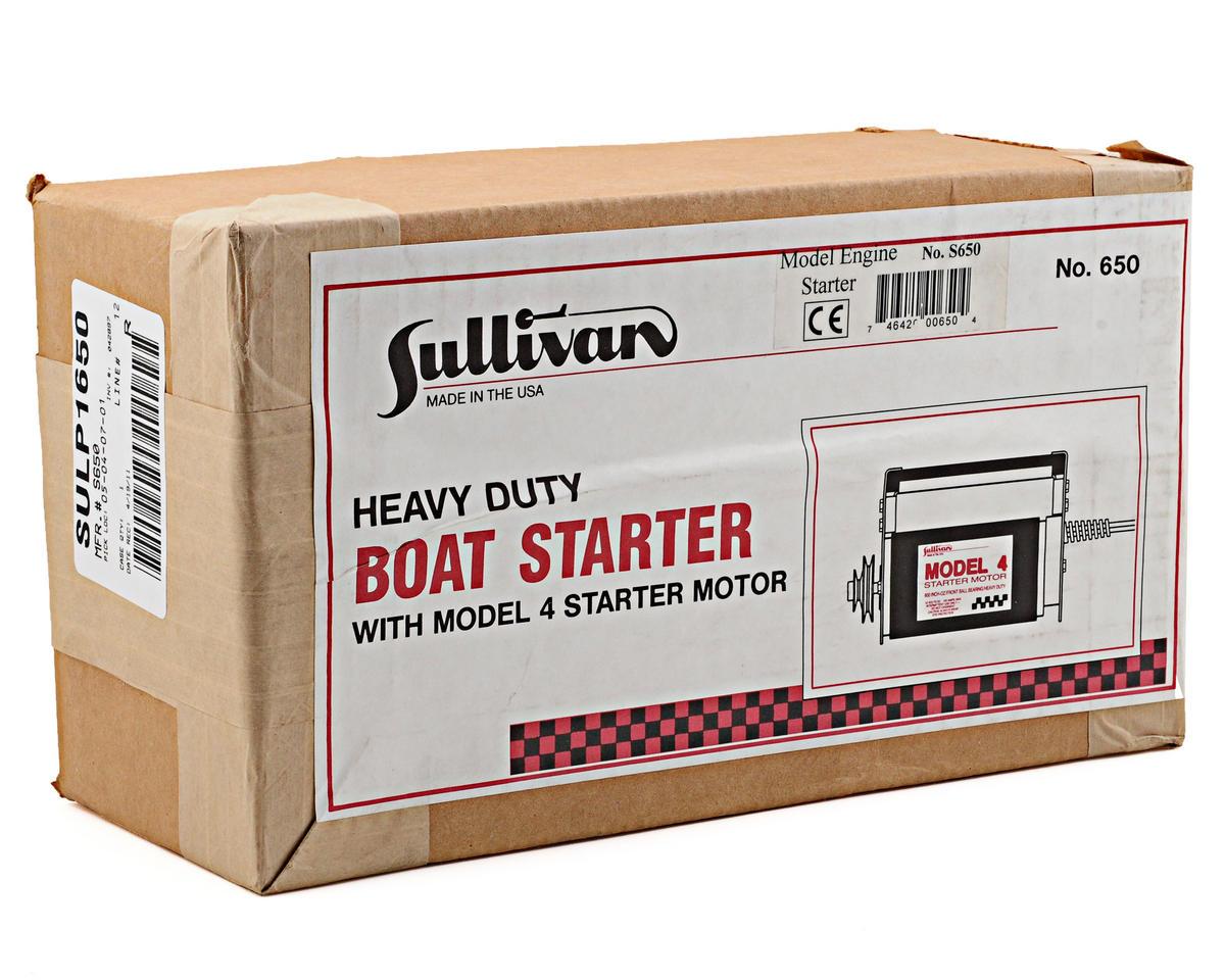 Sullivan 650 Model 4 Boat Starter
