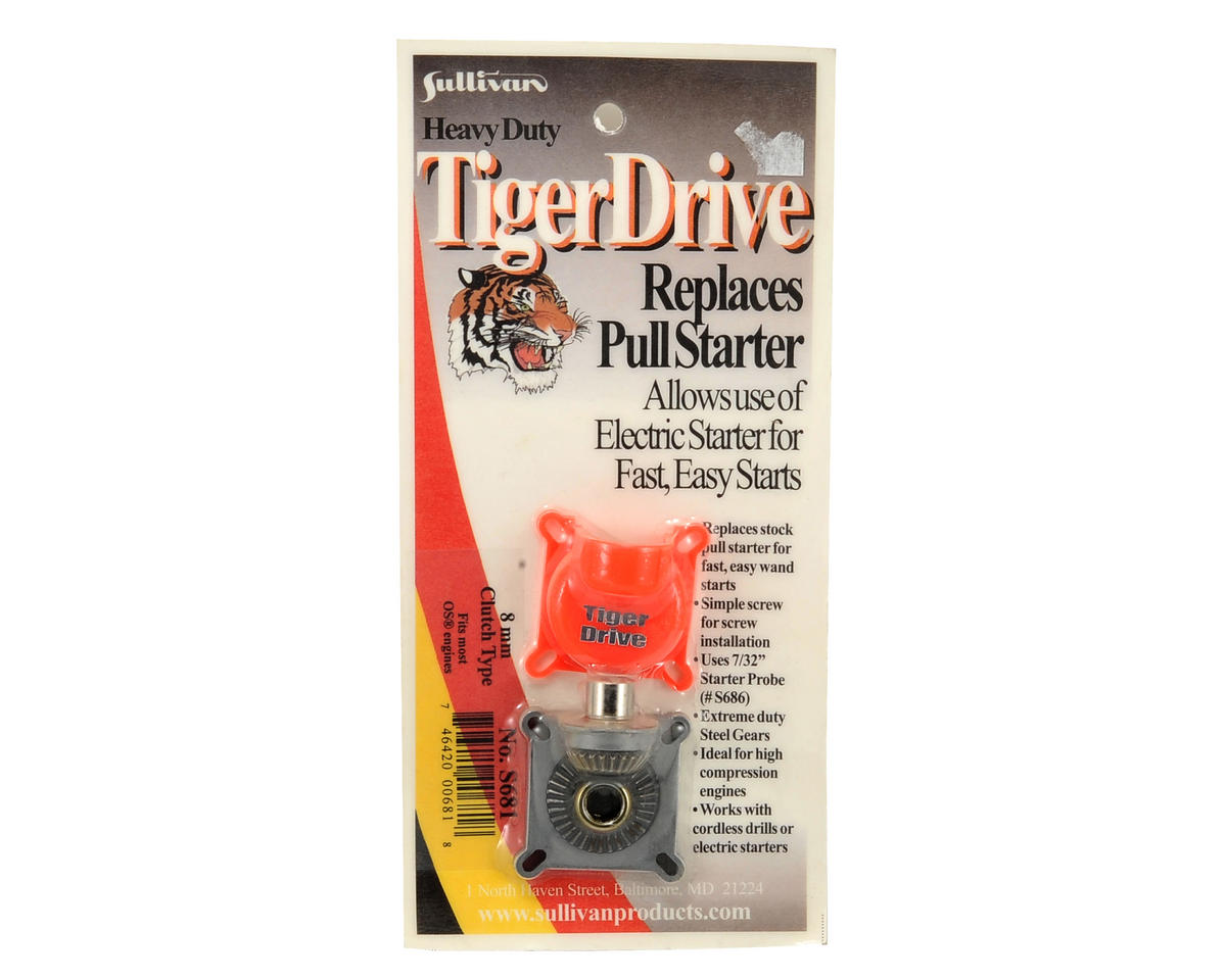 TigerDrive 8mm Shaft Starter by Sullivan