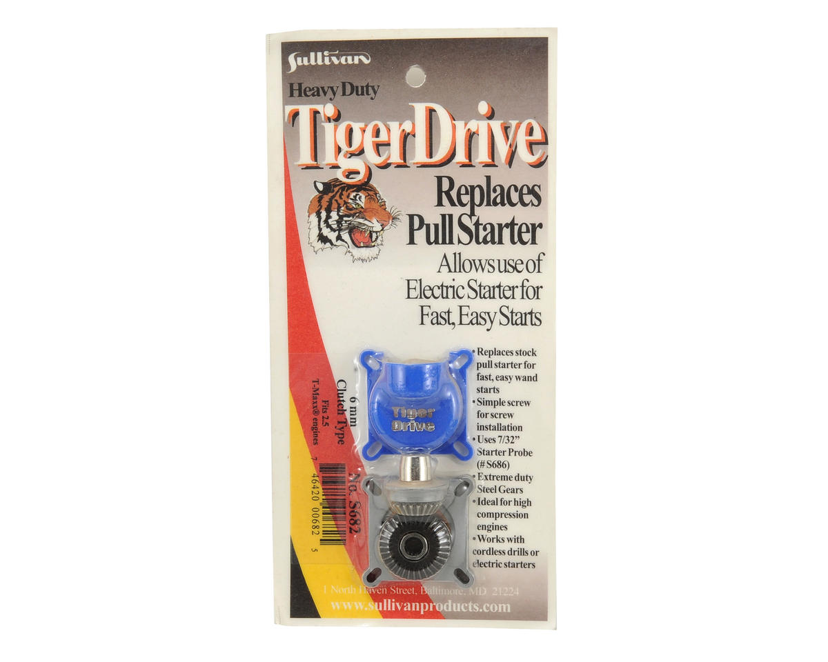 Sullivan TigerDrive 6mm Shaft Starter (TRX 2.5)