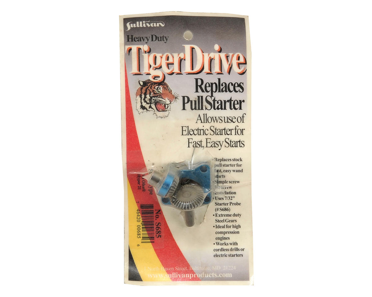 Sullivan TigerDrive Shaft Starter (Hyper .21 & .28)