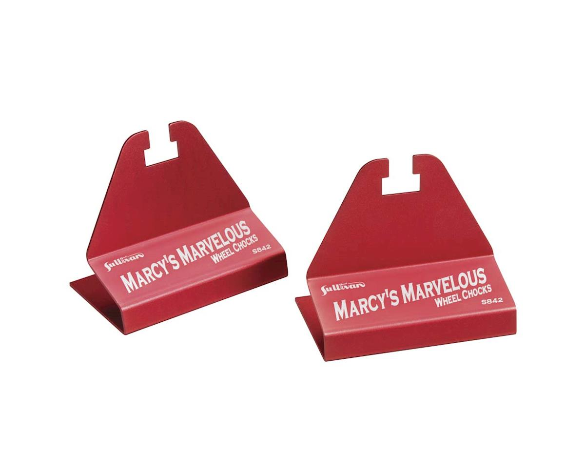 Sullivan Marcy Jones Marvelous Wheel Chocks, Red
